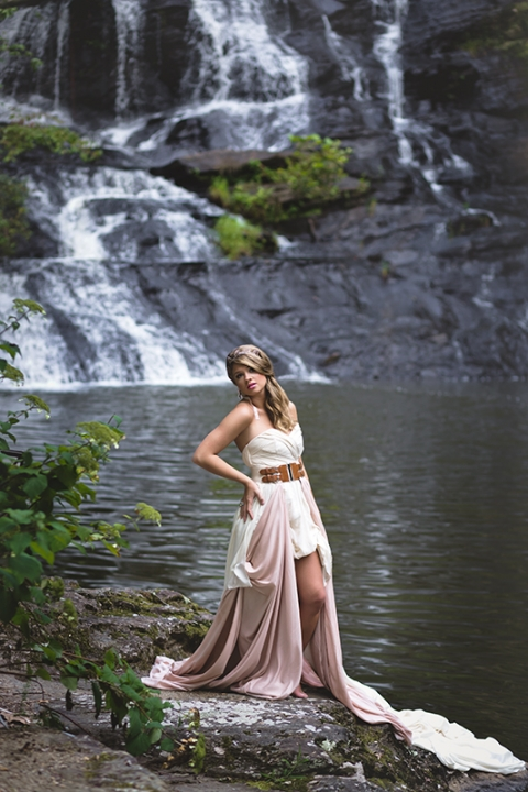 waterfall senior pictures atlanta georgia